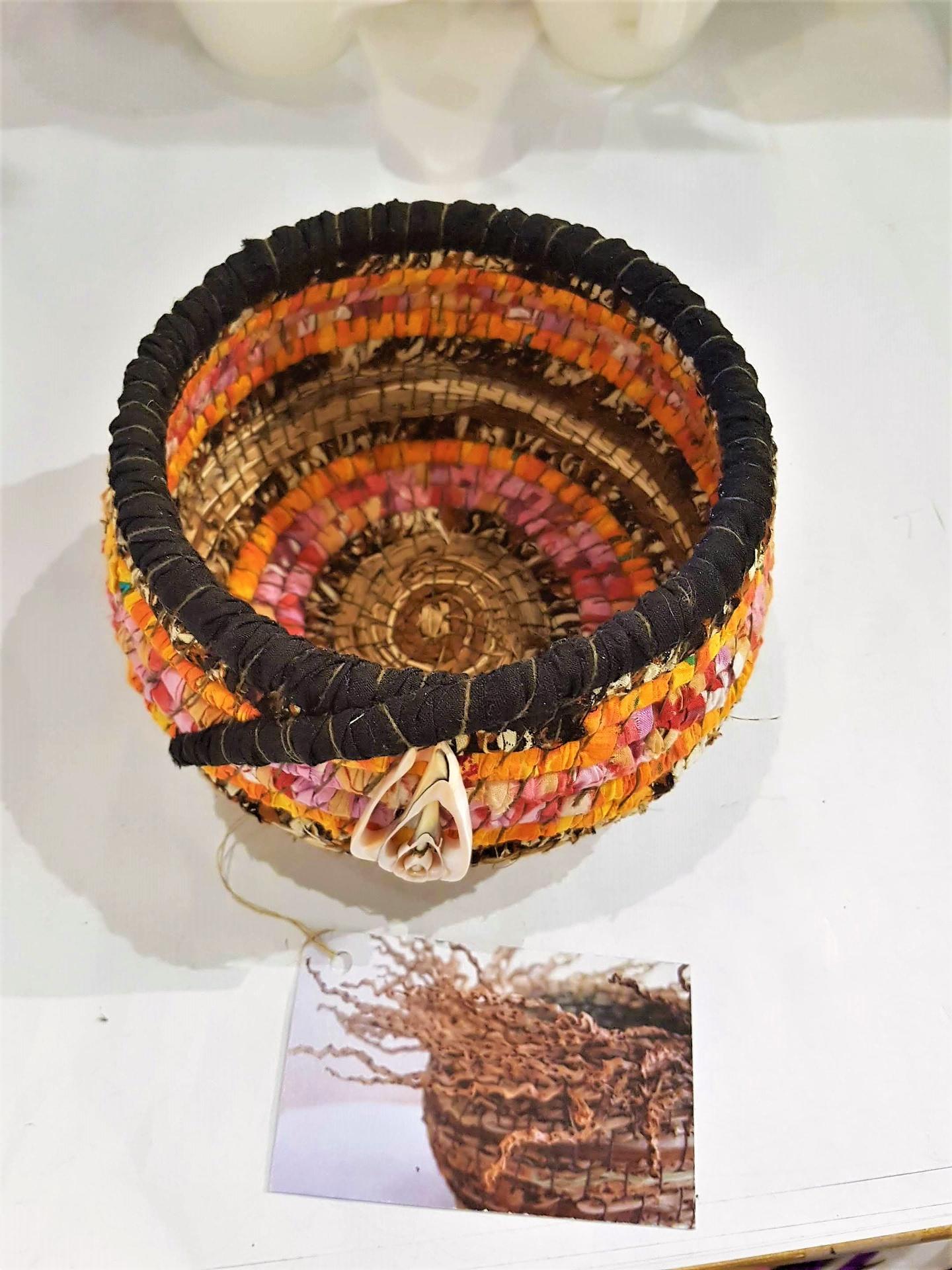 Cotton and Natural Fibre Basket