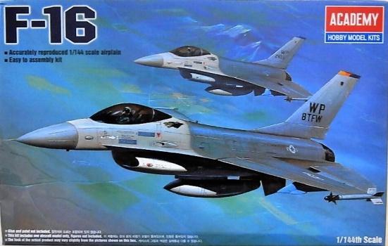 Academy #12610 1/144 F-16
