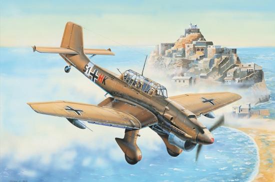 Trumpeter #03216 1/32 Junkers Ju87R Stuka