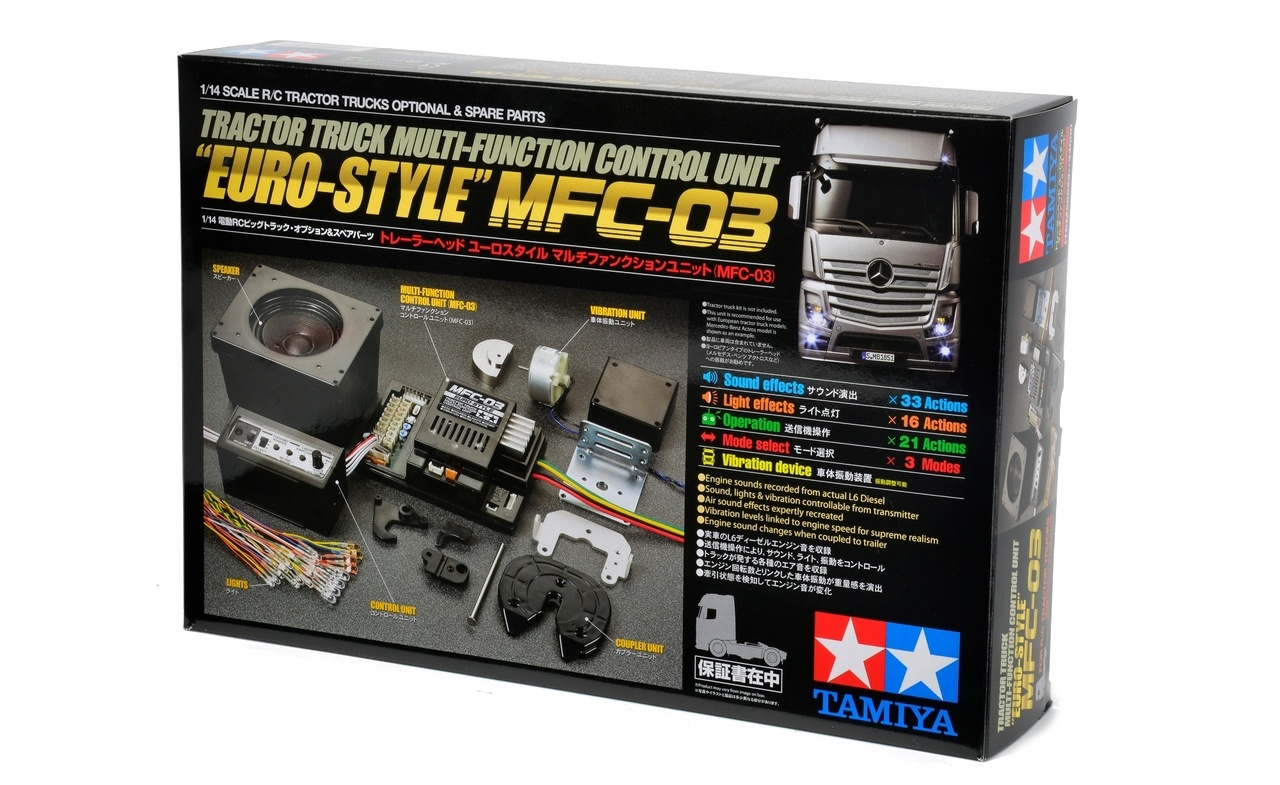 Tamiya #56523 1/14 RC truck Multi-Function Unit (Euro-Style)