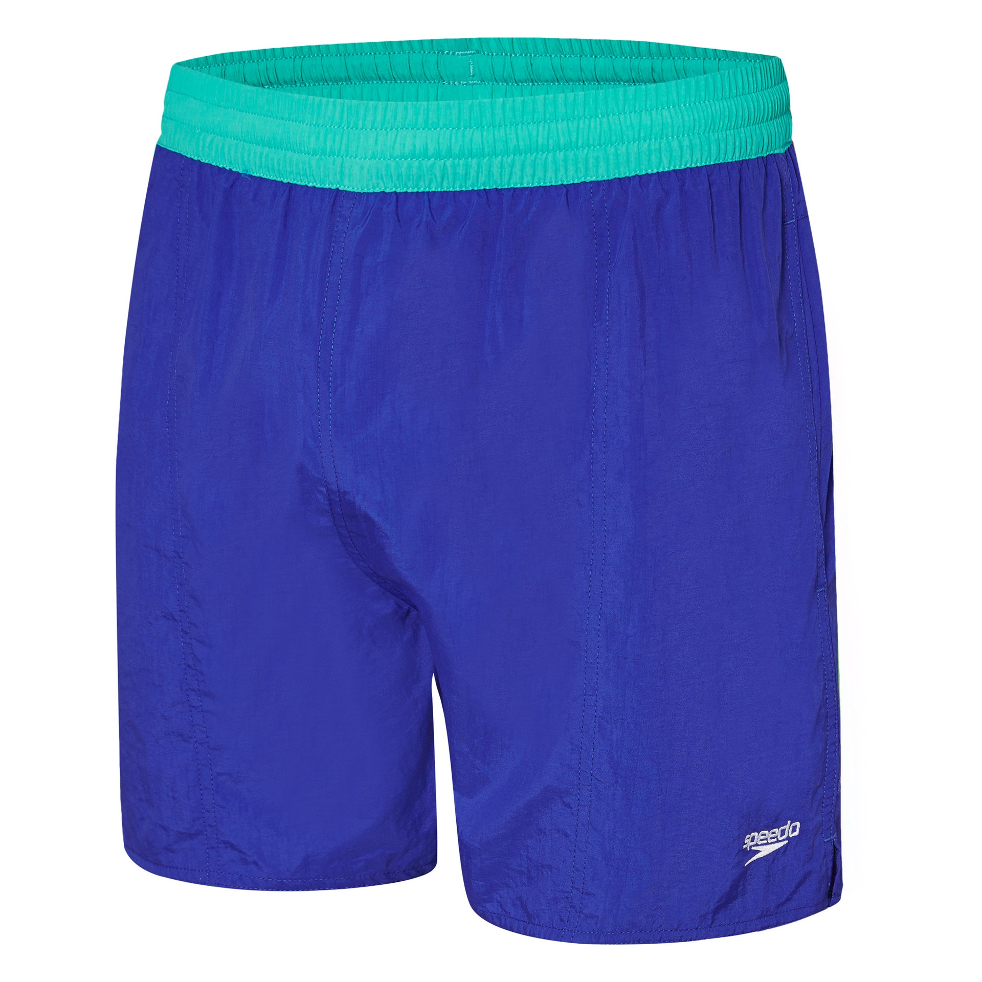 Mens Solid Leisure Short III Speed/Bali Blue
