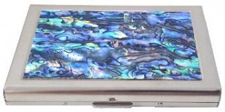 Paua Credit Card Holder