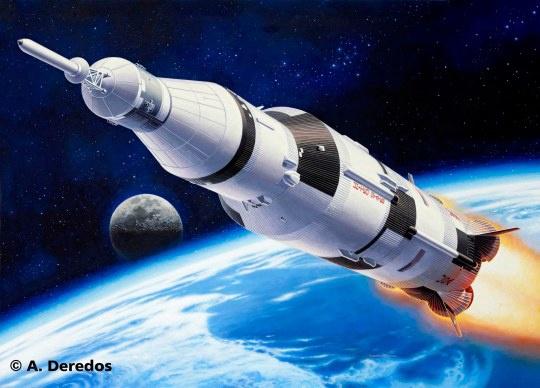 Revell #04909 1/144 Apollo Saturn V
