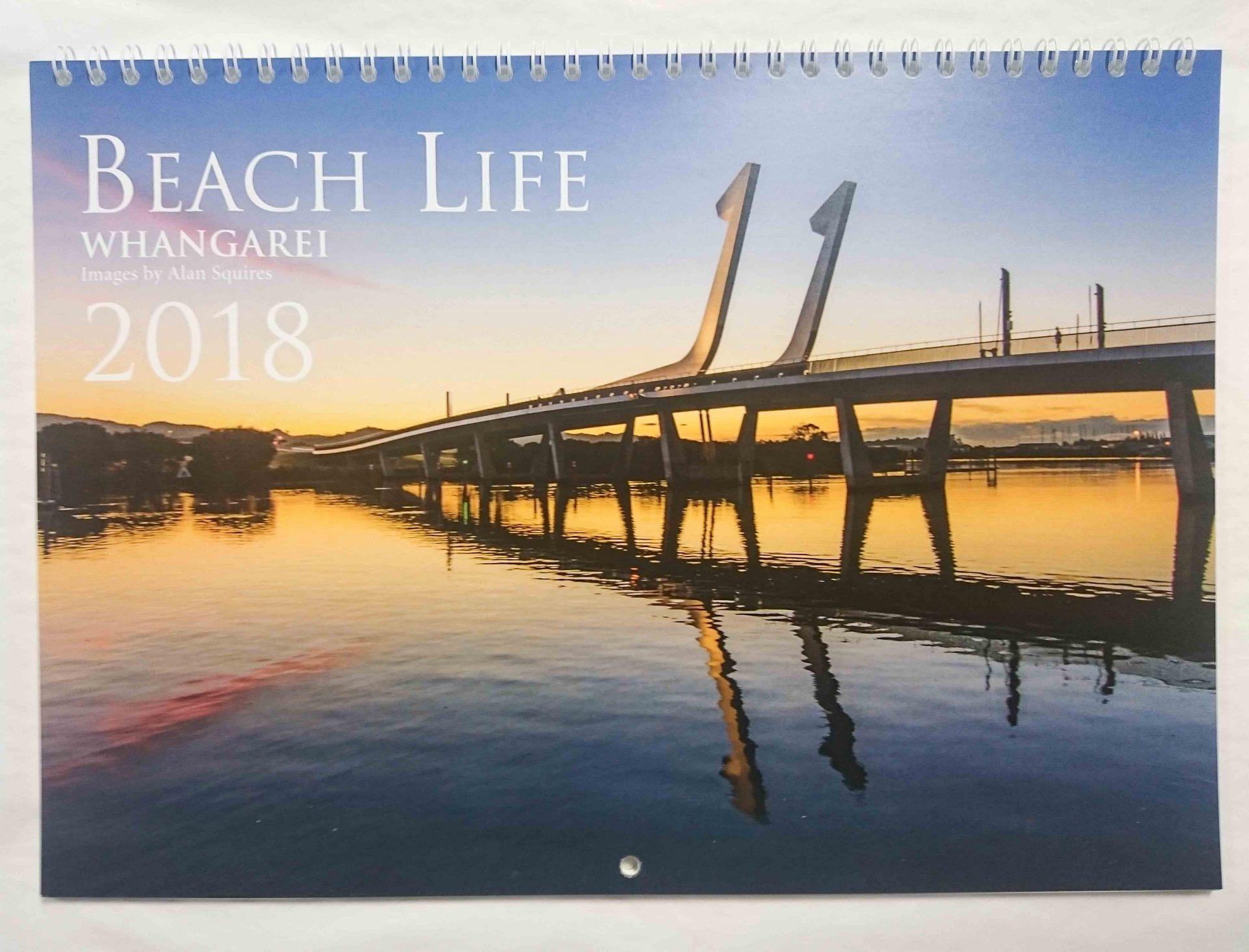 2018 Beach Life Calendar