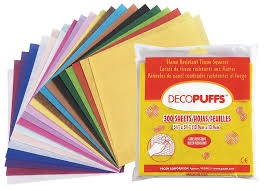 DECOPUFFS TISSUE SQUARES
