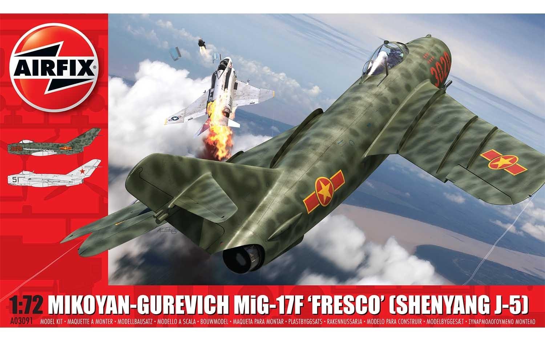 Airfix #A03091 1/72 Mikoyan-Gurevich MiG-17F 'Fresco'