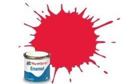 Humbrol Enamel #100238 No.238 Gloss Arrow Red 14ml Tinlet