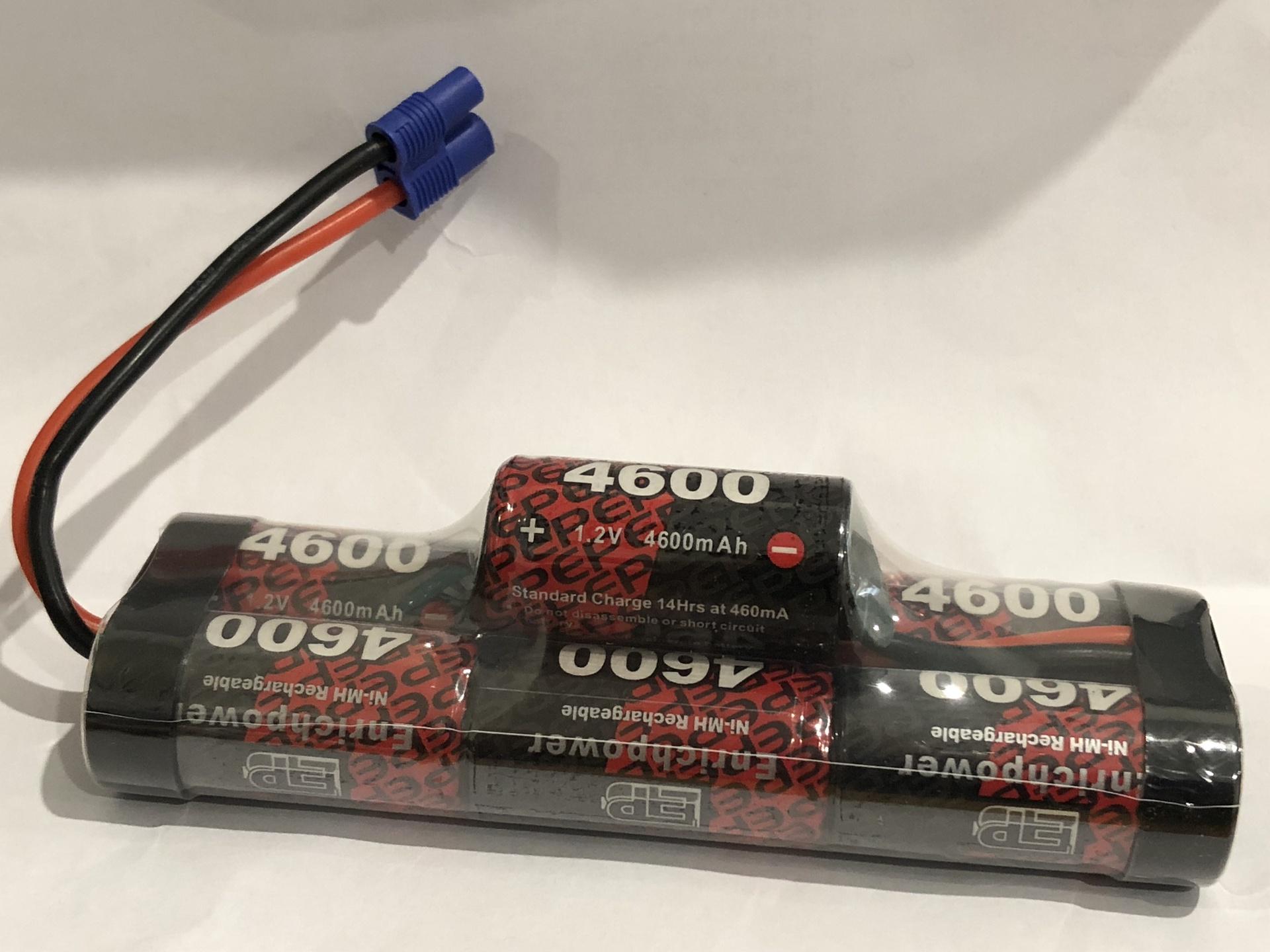Enrichpower #EP4600-7BH-EC3 8.4V Hump Pack with EC3 (ARRMA )