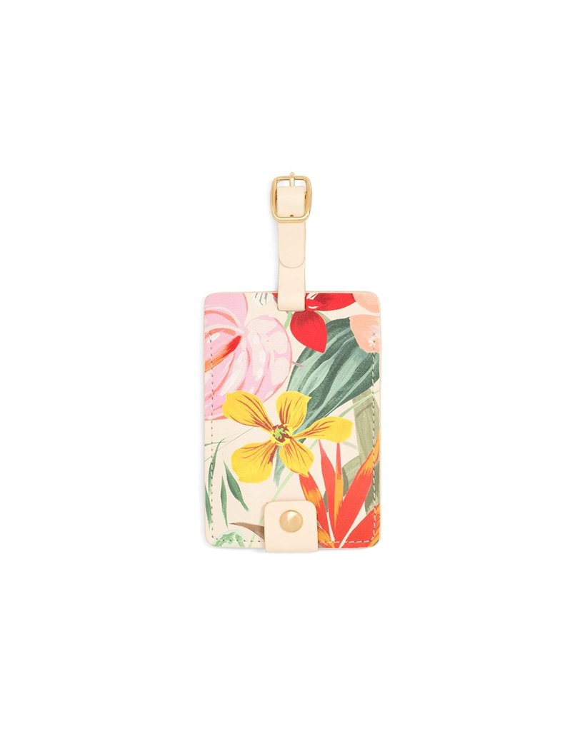 The Getaway Luggage Tag in Paradiso by Ban.do