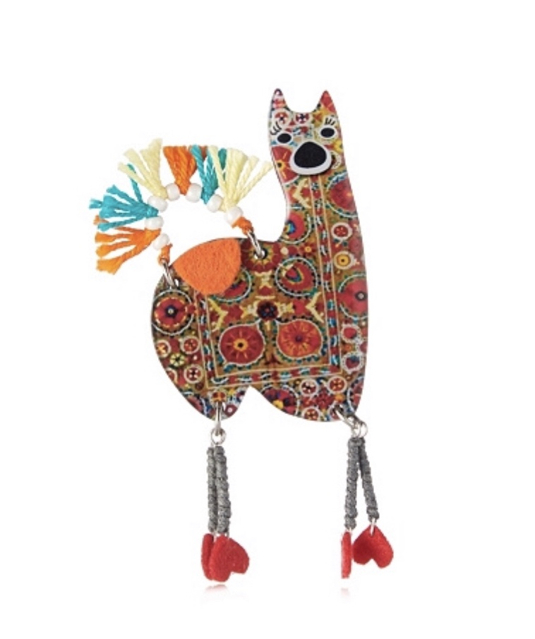 No Drama Lama Brooch