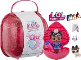 L.O.L. BUBBLY SURPRISE SUITCASE PINK