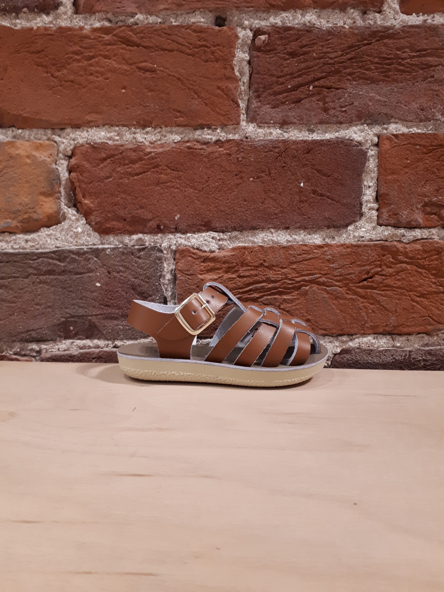 SALT WATER SANDALS - SAILOR IN TAN (5-8)