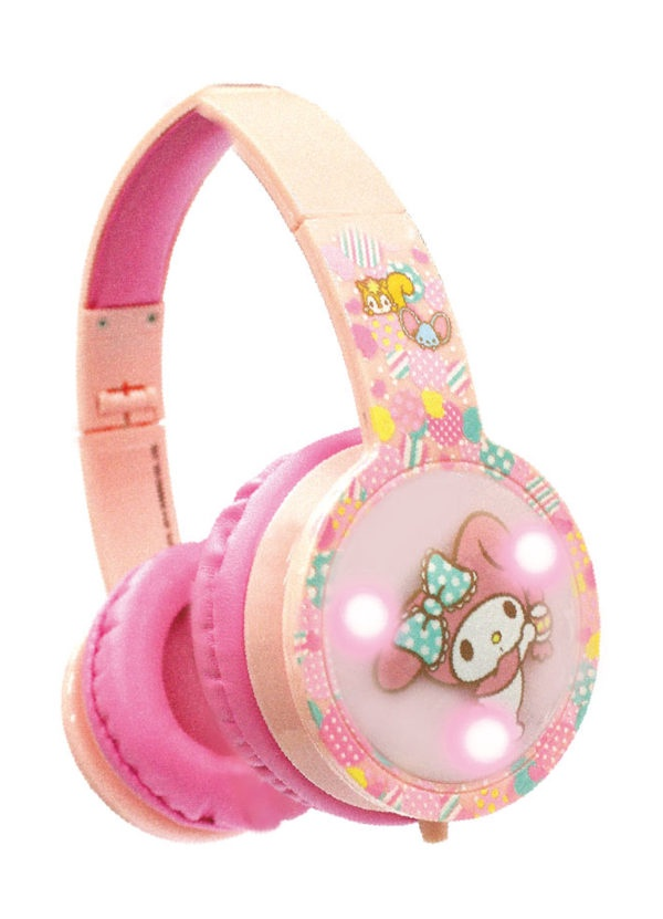 BLINKING KIDS HEADPHONES MY MELODY