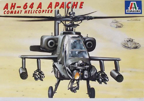 Italeri #832   1/48  AH-64A apache