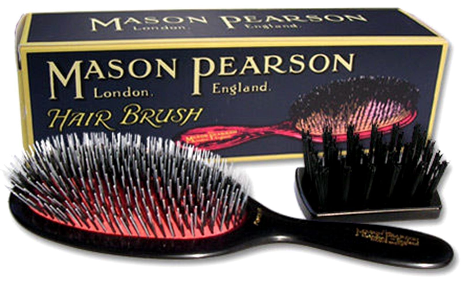 Mason Pearson popular nylon & bristle Brush