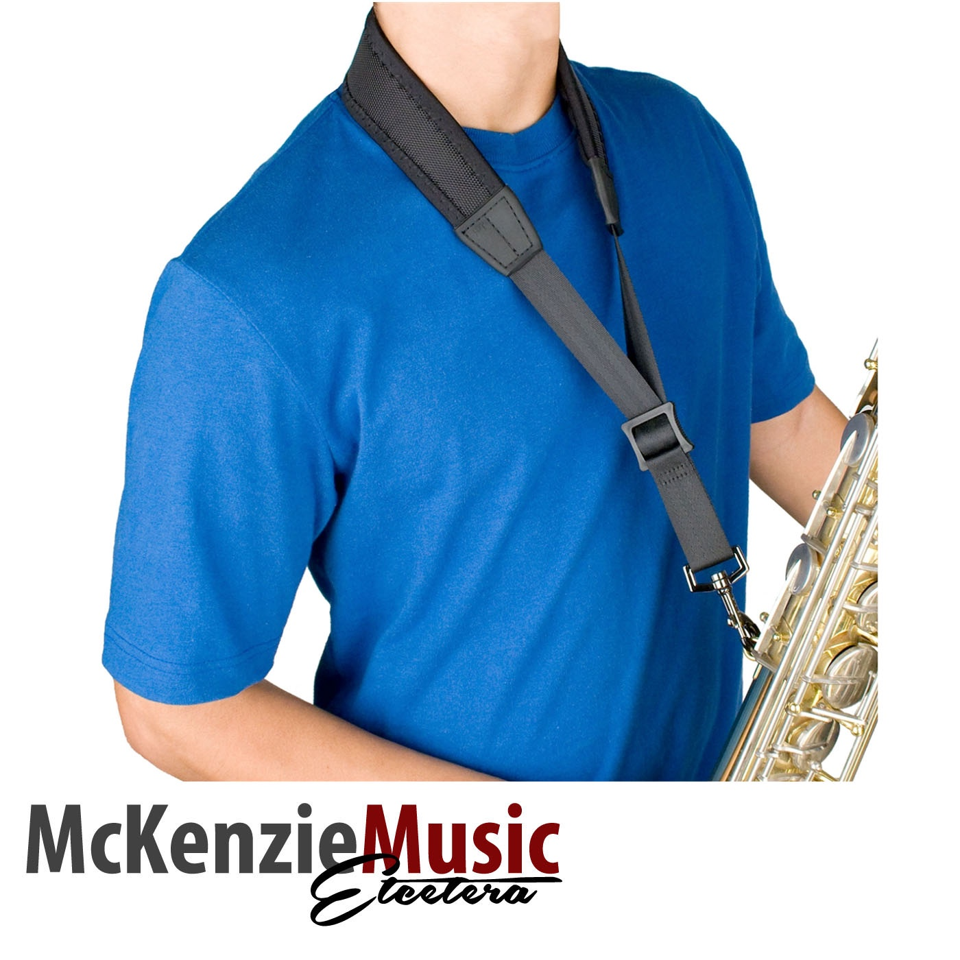 Protec Neoprene Less-Stress Sax Neck Strap - Regular