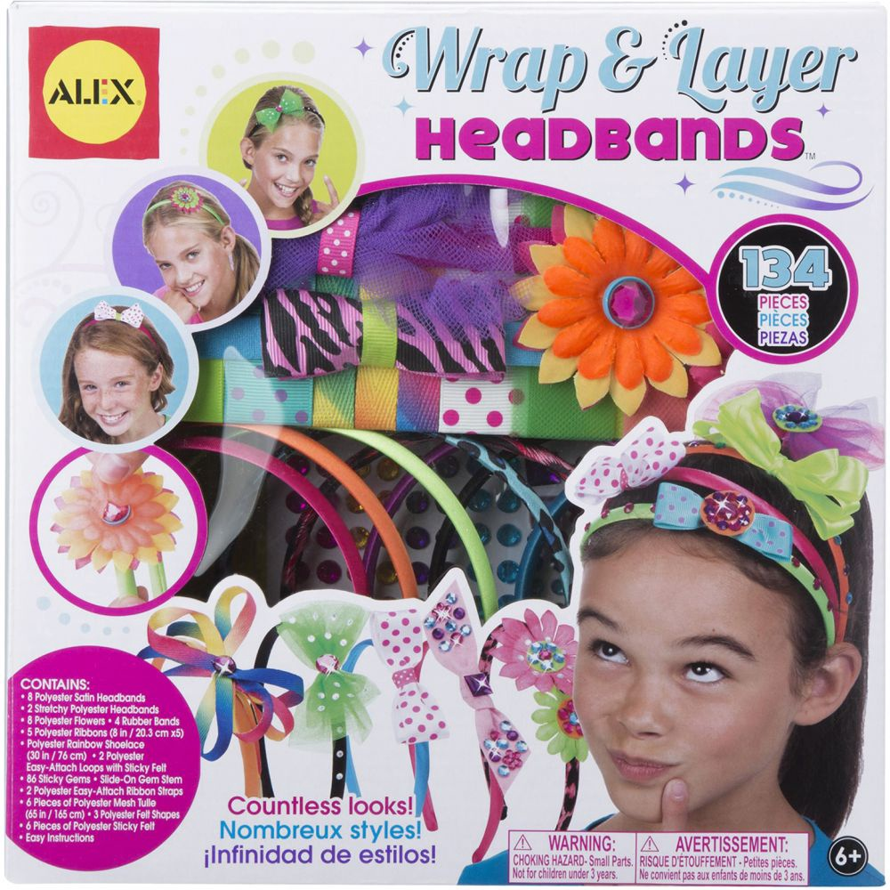 WRAP & LAYER HEADBANDS