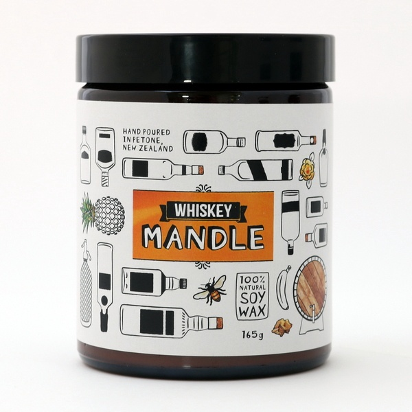 WHISKEY MANDLE - SMALL