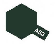 Tamiya Colour Spray Paint #86503 AS-3 Gray Green