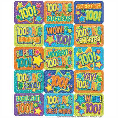 EU 658408 CMW 100 DAYS STICKERS