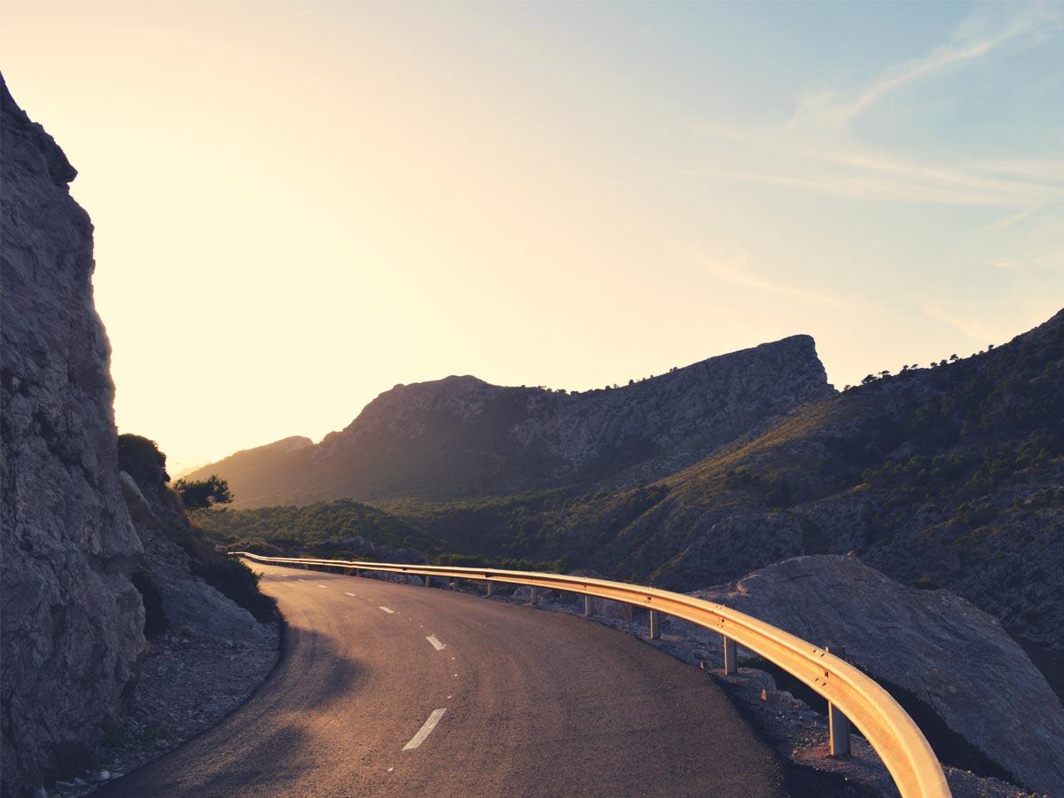 Cap Formentor Road