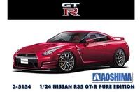 Aoshima #5154 1/24 Nissan R35 GT-R Pure Edition 2014