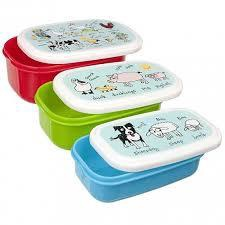 SNACK BOX 3 PCS FARMYARD