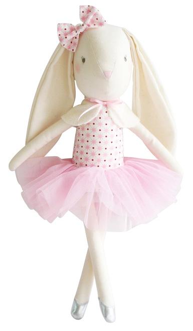 Alimrose Bella Ballet Bunny - Pink Ivory