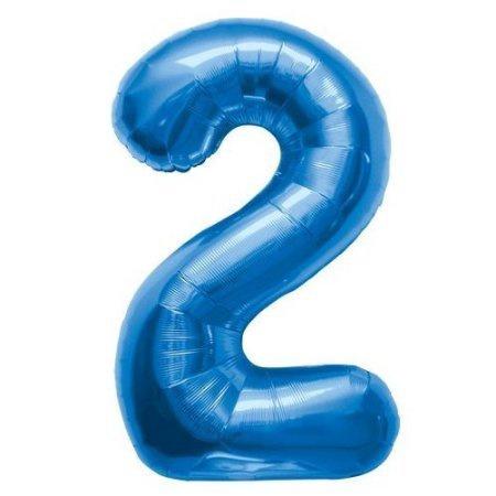 NUMBER 2 BLUE 34''