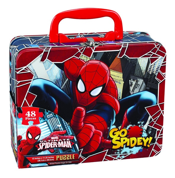 SPIDER-MAN LUNCH TIN BOX PUZZLE
