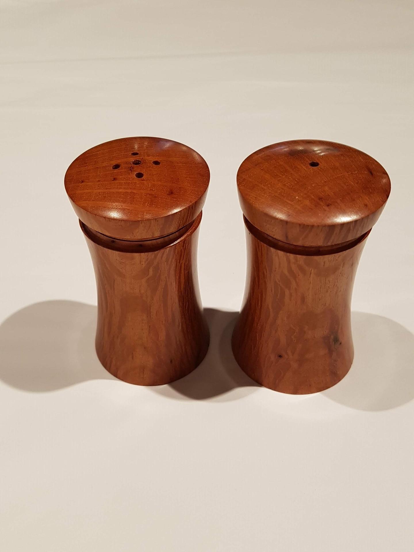 Flame Sheoak Salt and Pepper Shakers