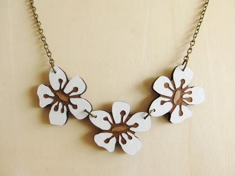 Triple Manuka Necklace