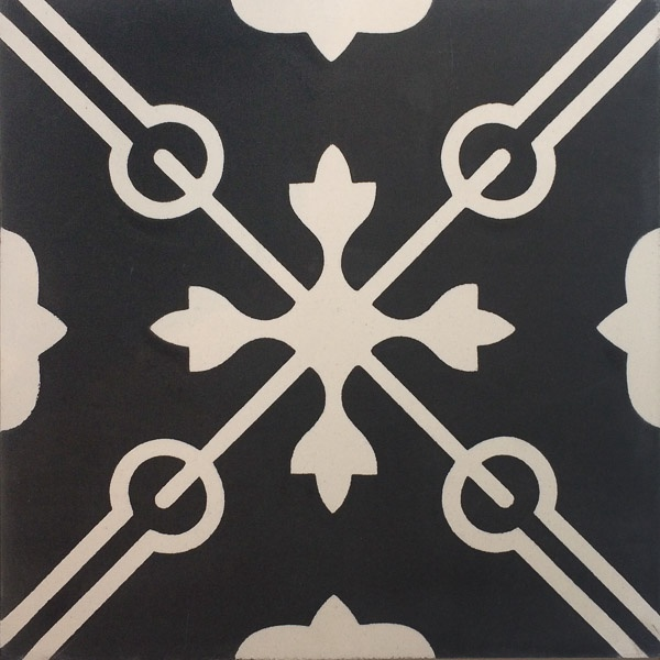 Handmade Tile | Mediteranean Keys Ornaments
