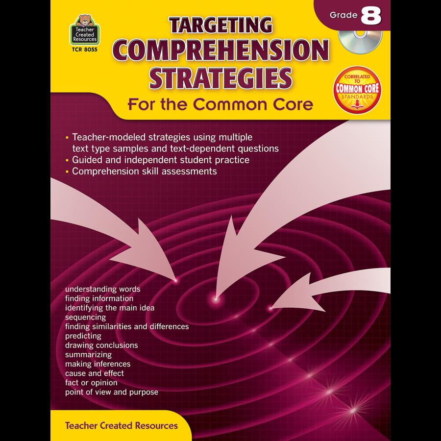 X TCR 8055 TARGETING COMPREHENSION STRATEGIES G8