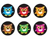 T 46204 BRIGHT OWLS INCENTIVE STICKERS