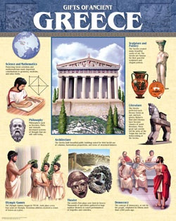 CTP 5562 GIFTS OF ANCIENT GREECE CHART