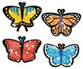 T 63305 BUTTERFLY BRIGHTS STICKERS