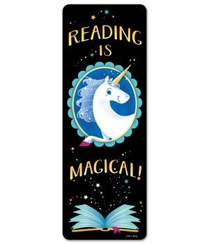 CTP 5553 READING IS MAGICAL BOOKMARK