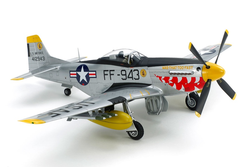 Tamiya #60328 1/32 F-51D Mustang Korean War