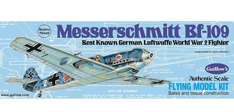 Guillows #401LC Messerschmitt BF-109