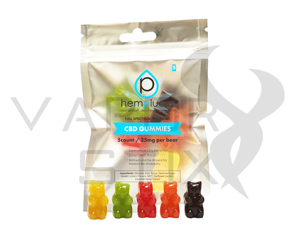 Hemplucid CBD Gummies 5pk