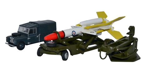 Oxford #76SET65  1/76 Bloodhound Guided Missile Set