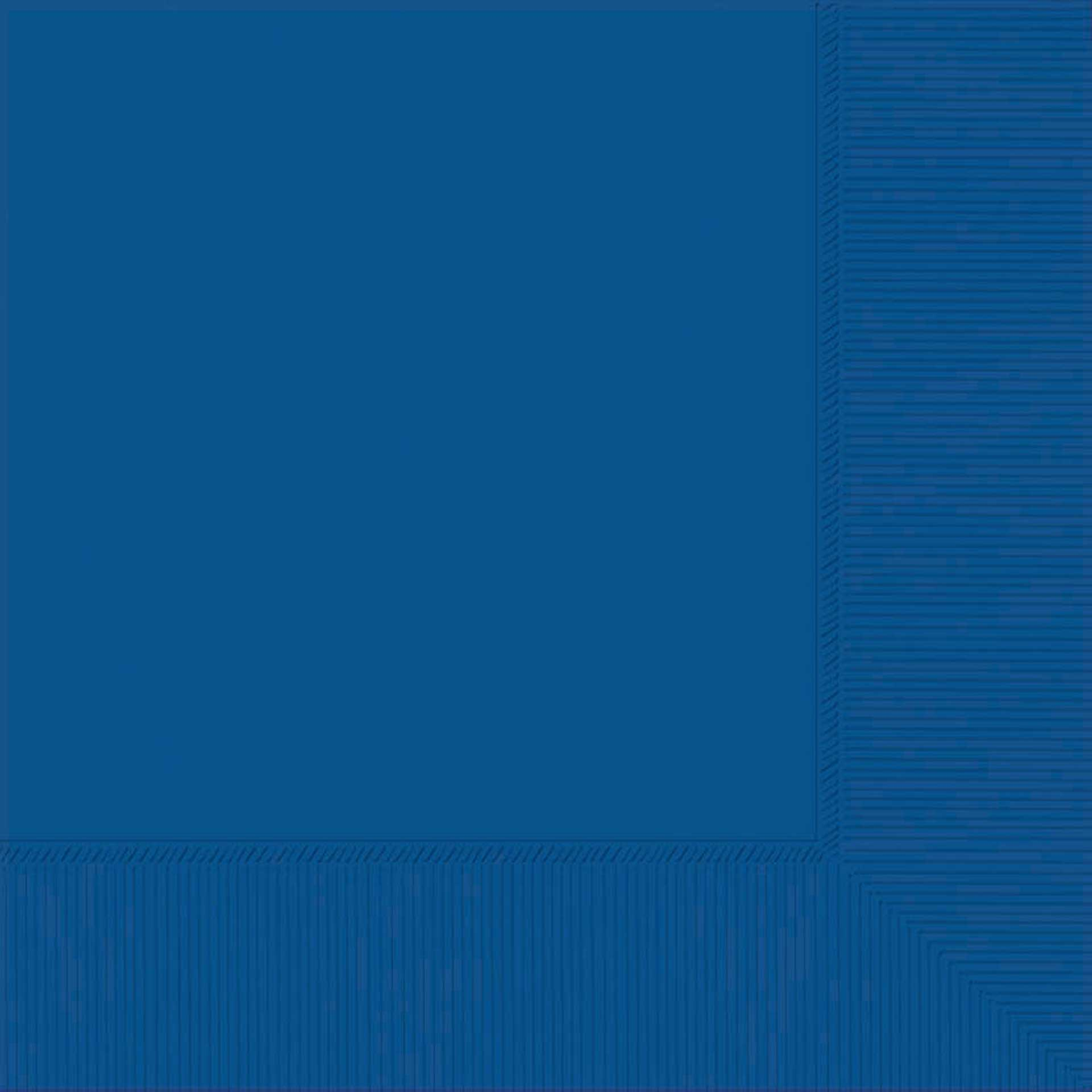 BRIGHT ROYAL BLUE LUNCH NAPKINS