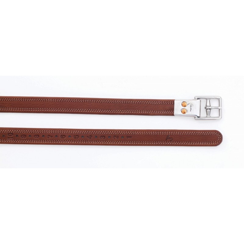 Pessoa Child's Biothane Line Leather with Metal Clasp End