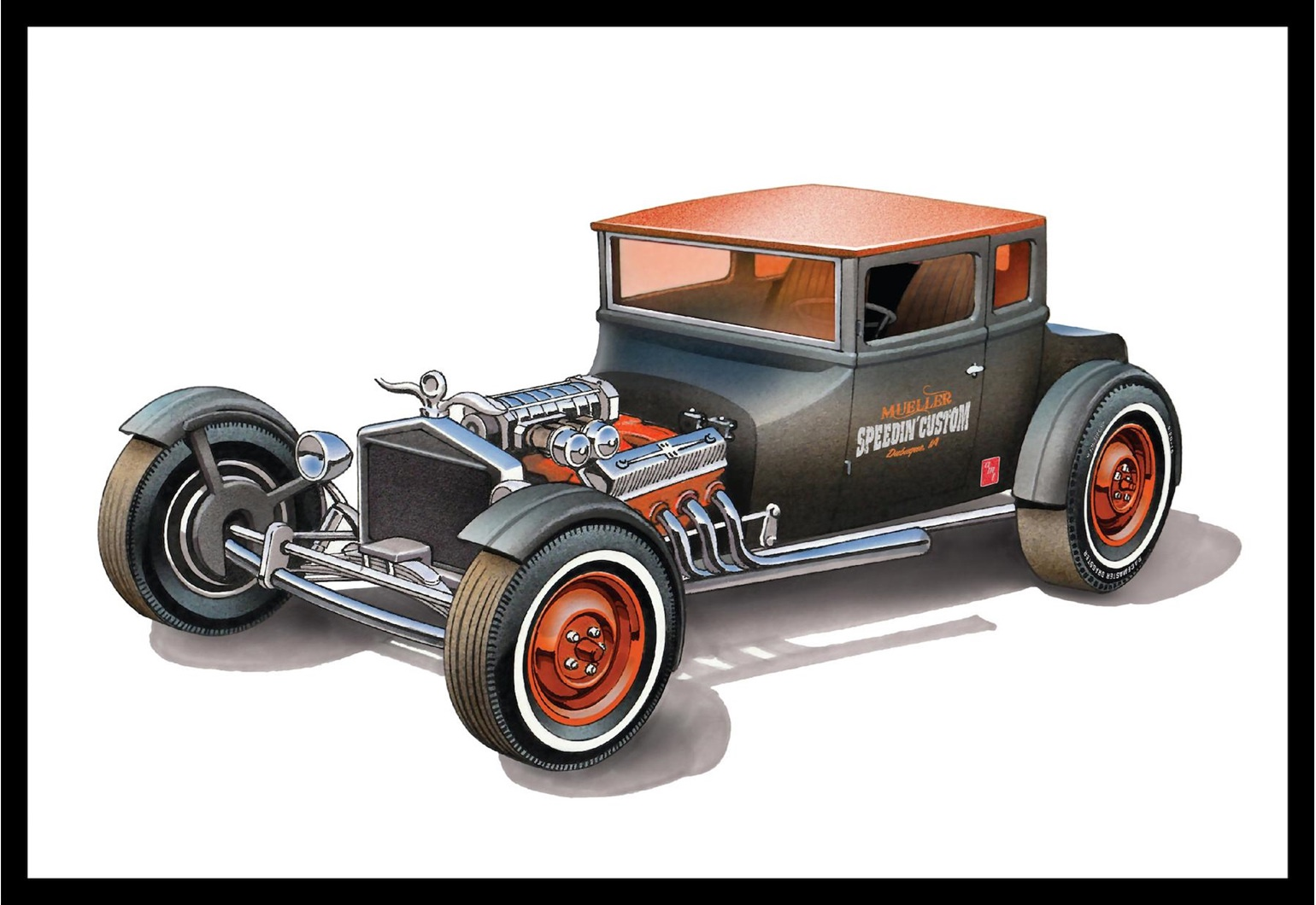 AMT# 1167  1/25 1925 Ford Model T