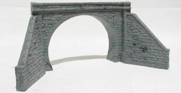 Model Scene #P-5046 OO/HO Double Tunnel Portal