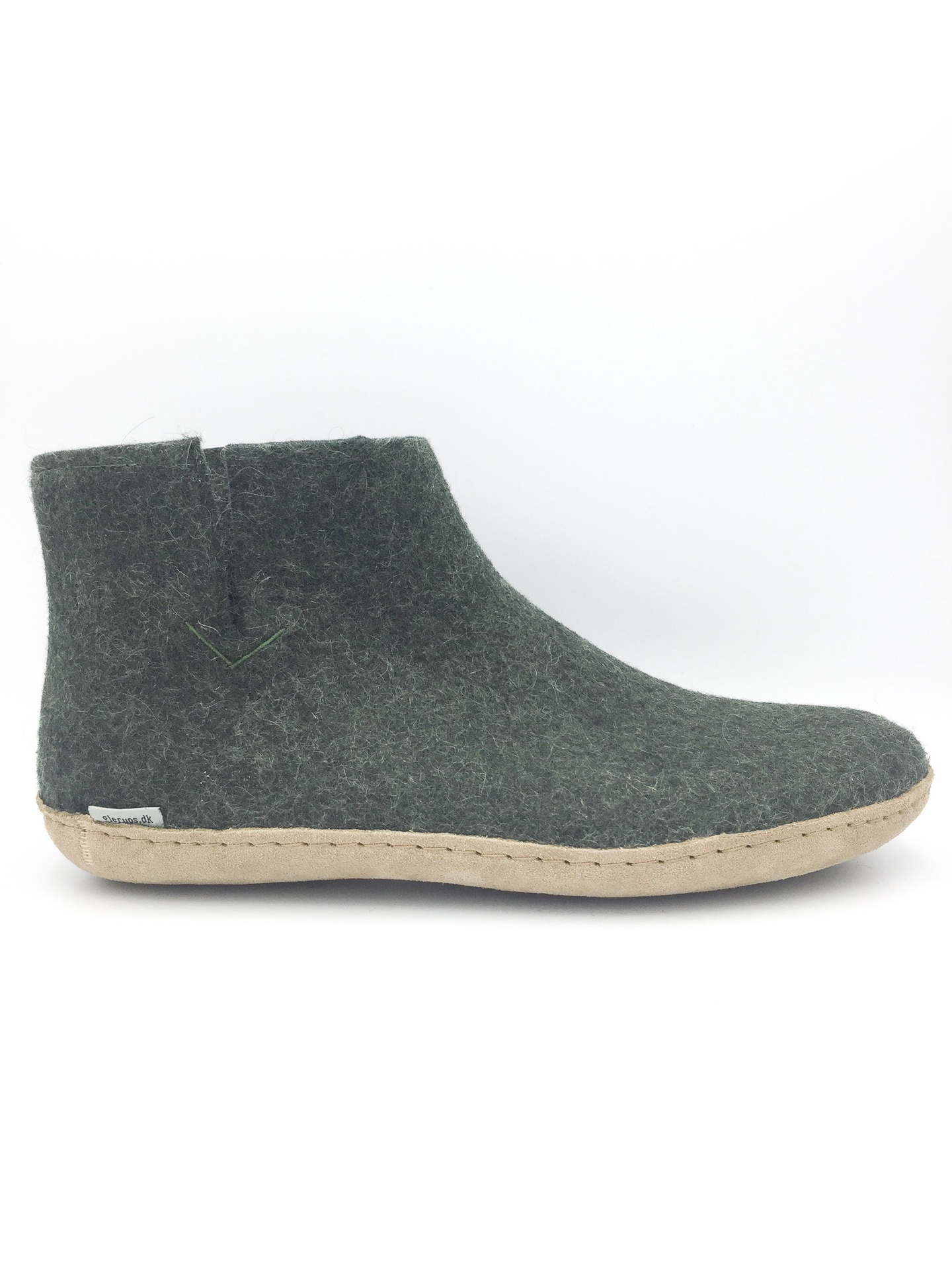 GLERUPS- FELT ANKLE BOOT IN FOREST