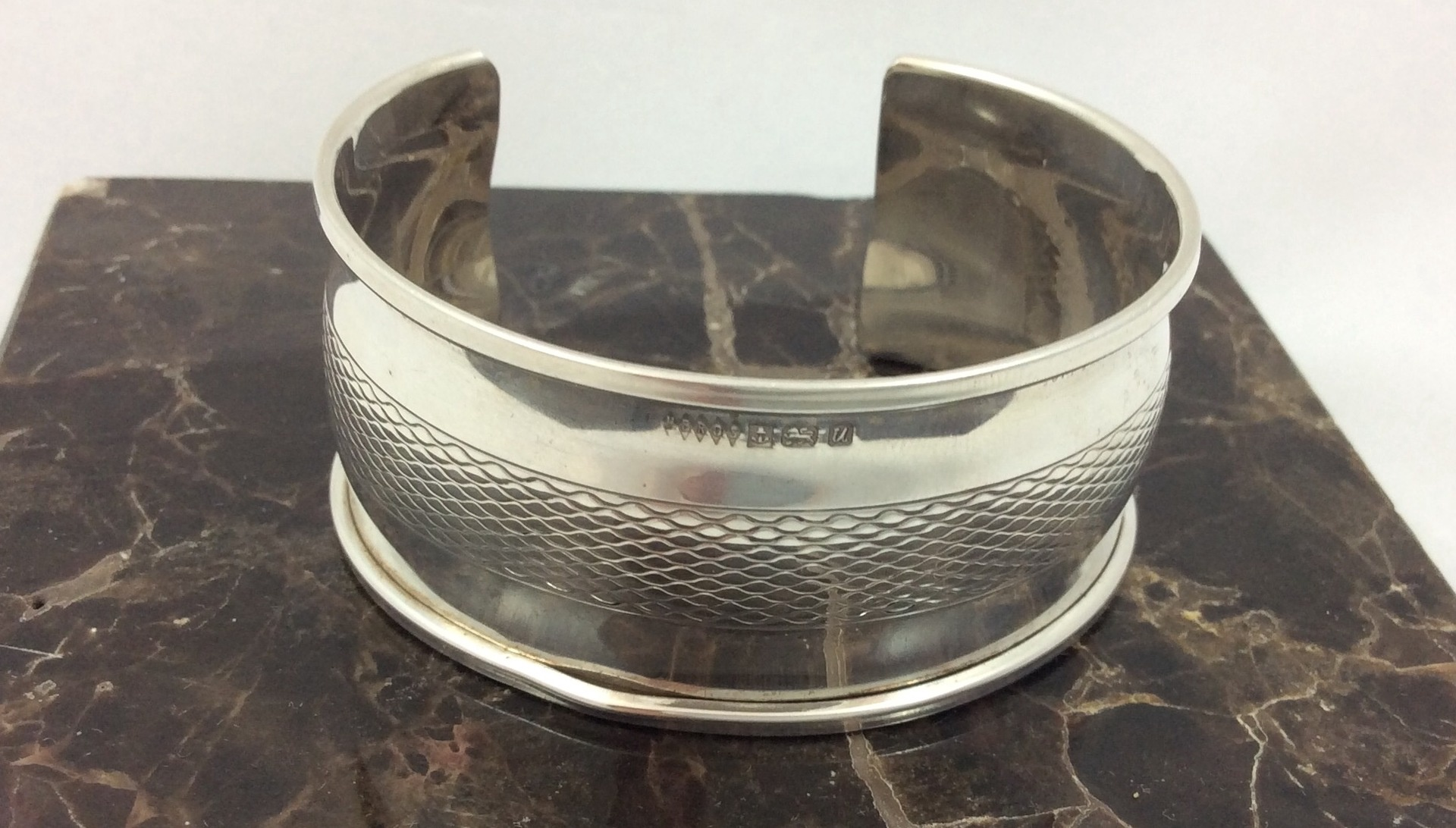 Vintage Sterling silver cuff