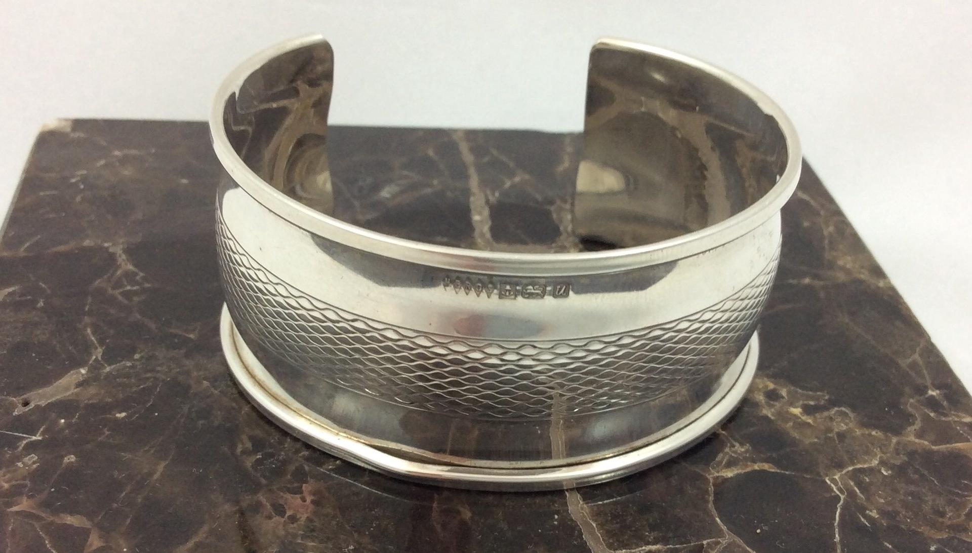 Vintage Sterling silver cuff