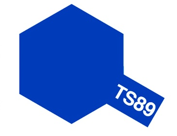 Tamiya Colour Spray Paint #85089 TS-89 Pearl Blue